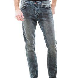 Dr Denim slim fit ανδρικό jeans Clark blue concrete - 1330125-e80