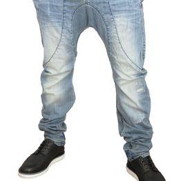 Humor Zanka jeans ξεβαμμένο με εκδορές - 8714513