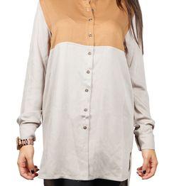 Arpyes μακρύ πουκάμισο μπεζ-κάμελ - 1780.15-bei