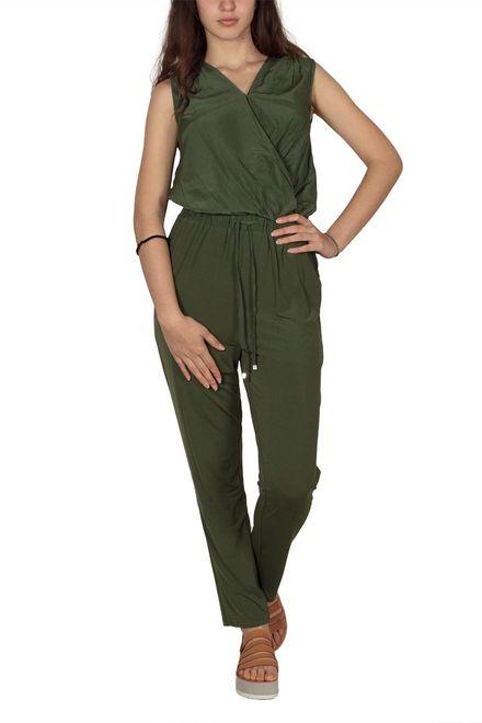 Soft Rebels Me ολόσωμη φόρμα κρουαζέ πράσινη - sr217-301