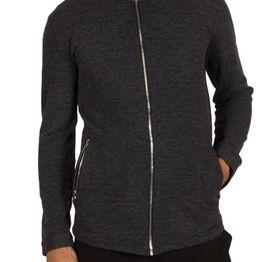 Anerkjendt Dag πουκάμισο ανθρακί μελανζέ με φερμουάρ - 9417020