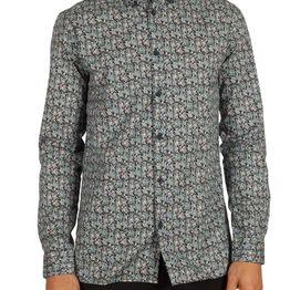 Anerkjendt Django ανδρικό πουκάμισο navy - 9417006