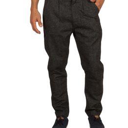 Anerkjendt Gibby παντελόνι ανθρακί μελανζέ - 9417602