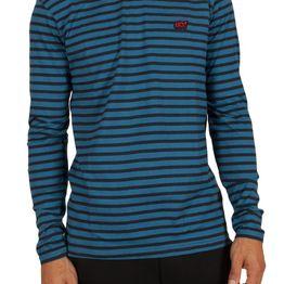 Anerkjendt Metri μπλούζα ριγέ μπλε με απλικέ - 9417309-bl