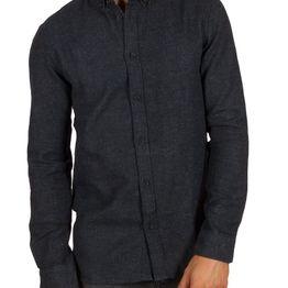 Anerkjendt Konrad πουκάμισο σκούρο μπλε - 9517013
