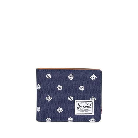 Herschel Supply Co. Hank RFID embroidery wallet peacoat - 10368-01607-os