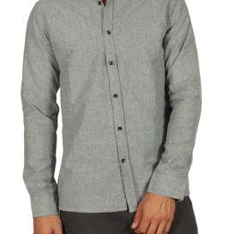 Anerkjendt Chandler πουκάμισο ανοιχτό γκριζομπλέ - 9517020