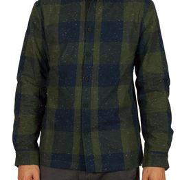 Anerkjendt Chandler πουκάμισο καρό μπλε-λαδί - 9517016