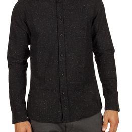 Anerkjendt Konrad πουκάμισο μαύρο - 9517031