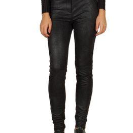 Minimum Sissie στενό παντελόνι μαύρο - 137070068