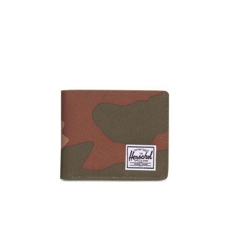 Herschel Supply Co. Hank RFID wallet woodland camo/tan - 10368-00032-os