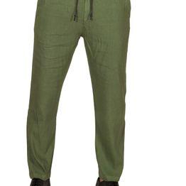 Anerkjendt Bard linen-mix ανδρικό παντελόνι χακί - 9218603-kh