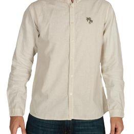 Anerkjendt Early μακρυμάνικο πουκάμισο μπεζ - 9218029