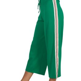 Daisy Street ζιπ κιλότ πράσινη με ριγέ σιρίτι - srb-207