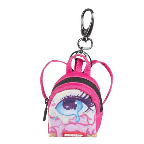 Sprayground left eye scream keychain - 910k1809nsz