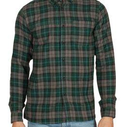 Anerkjendt Hamlet πουκάμισο φανέλα καρό πράσινο - 9518021