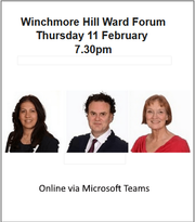 Winchmore Hill ward forum minutes published
