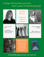 A literary career launched, thanks to Collage Writing Room (and Palmers Green Community)