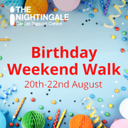 Your invitation to a special Birthday Weekend Walk