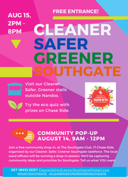 Working together to make Southgate cleaner, safer and greener!