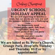 An urgent appeal from Cooking Champions