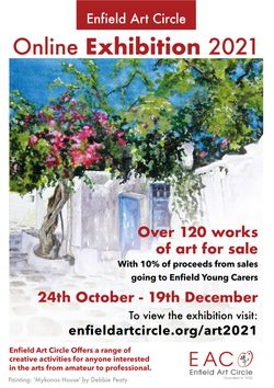 The Enfield Art Circle annual exhibition - online again this year