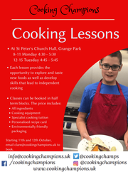 Cooking lessons for kids, taught by champs