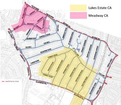 Fox Lane quieter neighbourhood and the Lakes Estate - not the same thing - Comment by Basil Clarke