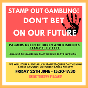 Merkur Slots campaigners call demonstration for Friday 25th June
