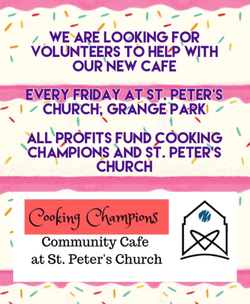 Volunteer at the new Cooking Champions community cafe