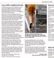 'We really do have a neighbourhood' – the effect of the Fox Lane LTN - Comment by Karl Brown