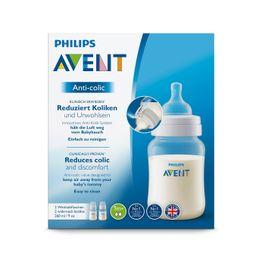 Avent Anti-Colic Μπιμπερό Πολυπροπυλενίου Κατά των Κολικών Χωρίς BPA 260ml 2τμχ SCF813/27
