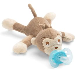 Avent Snuggle Λούτρινο Μαϊμού - Μαλακή Ορθοδοντική Πιπίλα 0-6 Μηνών SCF348/12