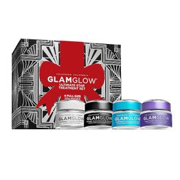Glamglow Ultimate Star Treatment Set Supermud Mask 50gr & Gravitymud Mask 50gr & Youthmud Mask 50gr & Thirstymud Mask 50gr