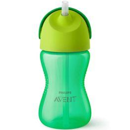 Avent Bendy Straw Cup Κύπελλο με Καλαμάκι 12m+ 300ml SCF798/01-02 - πράσινο