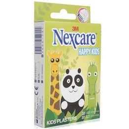 3M Nexcare Happy Kids Παιδικοί Αυτοκόλλητοι Μικροεπίδεσμοι 19mm X 72mm 10τμχ & 25mm X 72mm 10τμχ (1 κουτί)