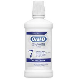 3D White Luxe 500ml - Oral-B,Στοματικό Διάλυμα για πιο Λευκά Δόντια με Άρωμα Μέντας