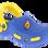 MADIGAN Αγορίστικη Σαγιονάρα CALIPSO 30/35 Μπλε – Μπλε – CALIPSO AZZURO 30/35-blue-31/4/10/63