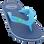 MADIGAN Αγορίστικη Σαγιονάρα RIOS ASS E 28/35 Μπλε – Μπλε – RIOS ASS E 28/35 BLUE-blue-28/4/10/60