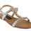 IQKIDS Κοριτσίστικο Πέδιλο LINA-120 29/35 Ασημί – Ασημί – LINA-120 SILVER-IQKIDS-silver-29/4/141/61