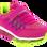 DEMAX Κοριτσίστικο Αθλητικό 3250 Φούξια – Φούξια – 3250 FUXIA-DEMAX-fuxia-19/4/26/89