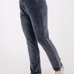 Βελουτέ παντελόνι σε ίσια γραμμή