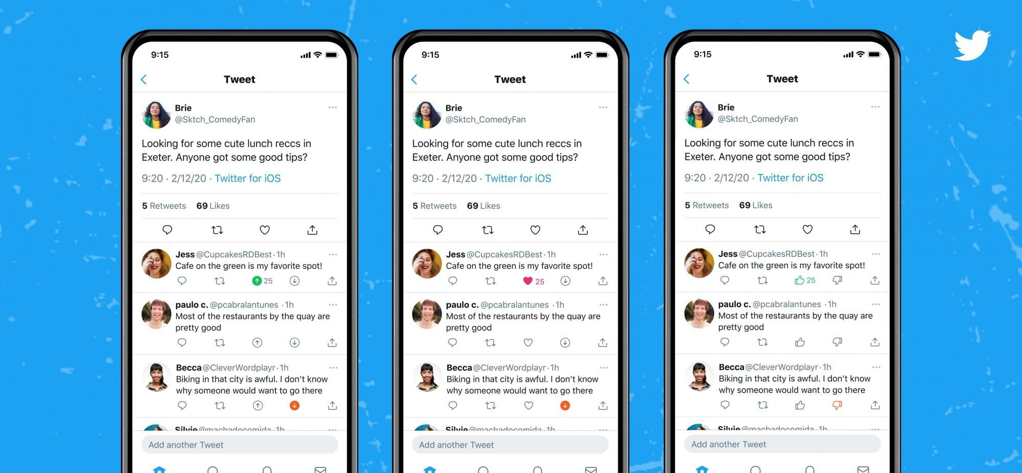 Twitter тестує нову функцію. Тепер коментарям можна ставити дизлайки