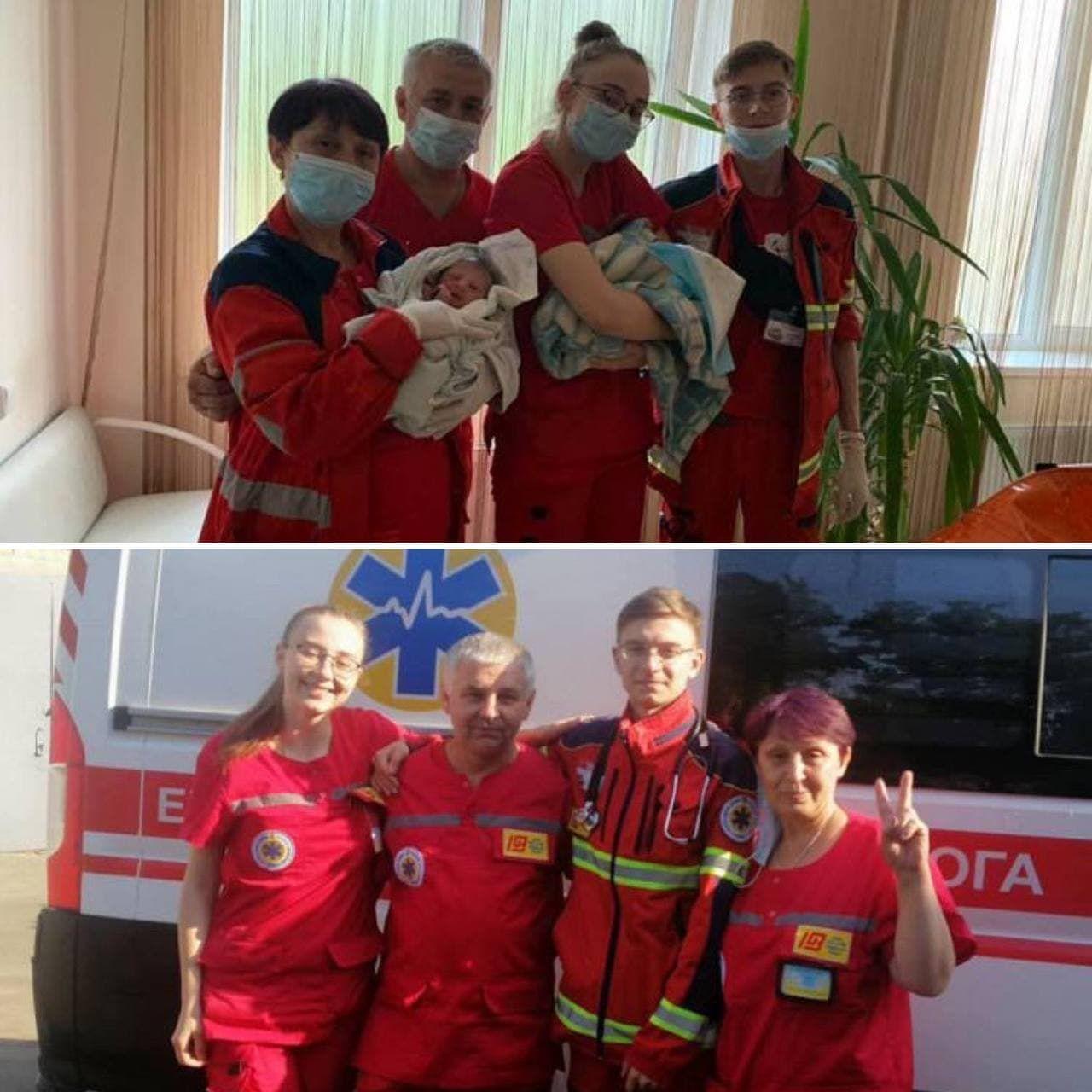 У Харкові лікарі допомогли народити жінці двійню прямо у ванній: дітей назвали в честь медиків (фото)