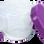 NUK Εκπαιδευτικό Μπολ για Σνακ Easy Learning Snack Box 36m+ Μωβ
