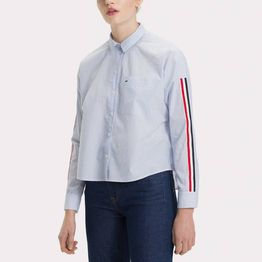 Tommy Jeans Boyfriend Stripe Shirt (9000019352_34487)