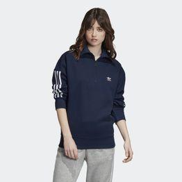 adidas Originals Half-Zip Sweatshirt - Γυναικείο Φούτερ (9000033612_7646)