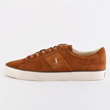 Polo Ralph Sayer Leather Low-Top Trainer (9000041072_42029)