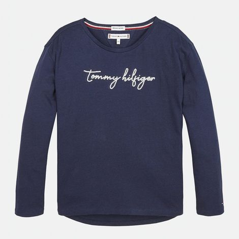 Tommy Jeans SEQUINS GRAPHIC TEE L/S (9000039830_12993)
