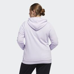adidas Performance Essentials Plus Size Hooded Track Jacket (9000045824_43520)